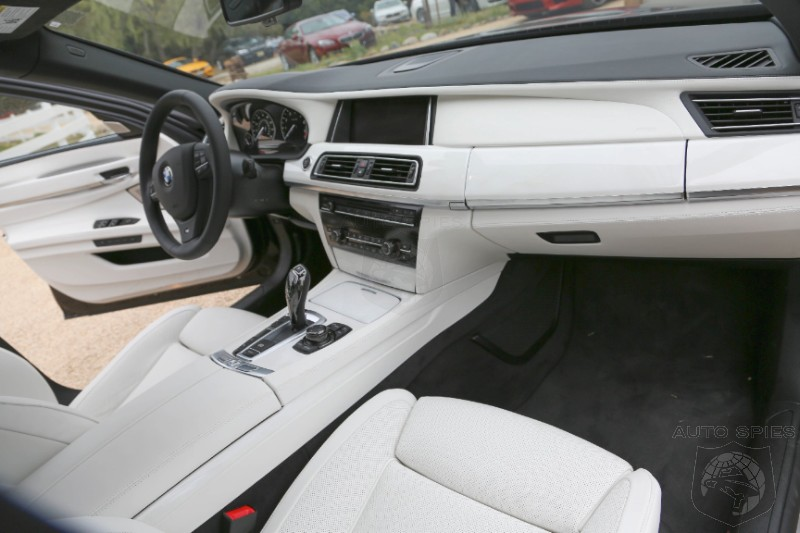 MONTEREY: Is This The MOST Unique BMW 7-Series Interior Ever?