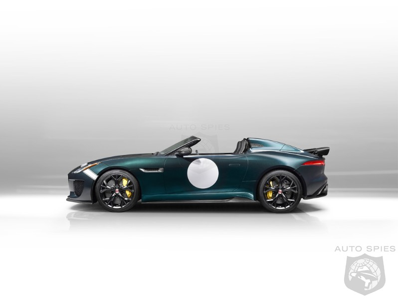 Jaguar Has Just Made Everyone's DREAMS Come True — The F-Type Project 7 Is Now REAL