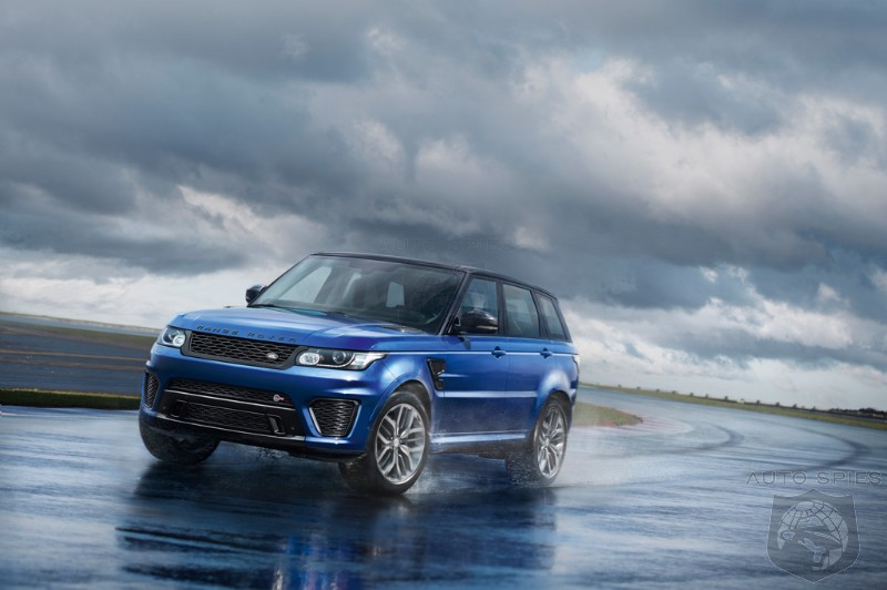 VIDEO: Lap The Silverstone Circuit In The All-New Land Rover Range Rover Sport SVR