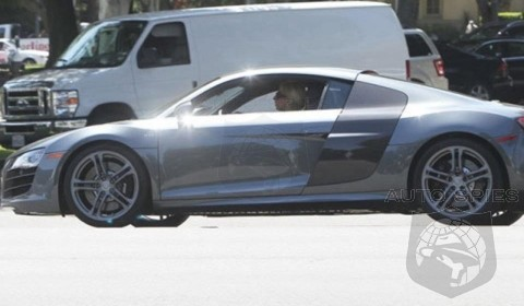 SPIED: Lady Gaga Has Her First Time In An Audi R8?