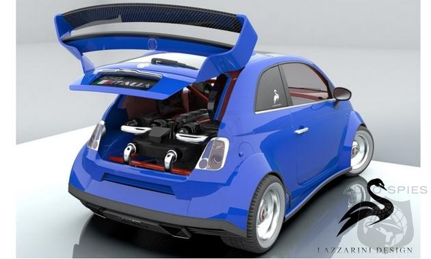 AWESOME or AWFUL: Is A Fiat 500 With A Ferrari Powerplant A GENIUS Idea Or A WASTE Of A Motor?