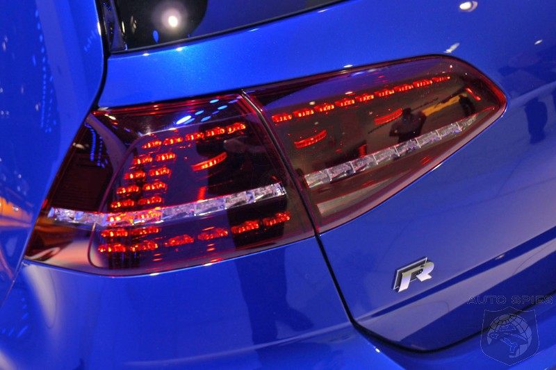 DETROIT AUTO SHOW: MORE Pictures Of The Volkswagen Golf R From Motown