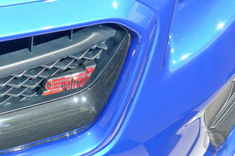 DETROIT AUTO SHOW: STUD or DUD — Is The 2015 Subaru WRX STI Going To Have You RUNNING To Your Dealer Or Are You NOT Interested?