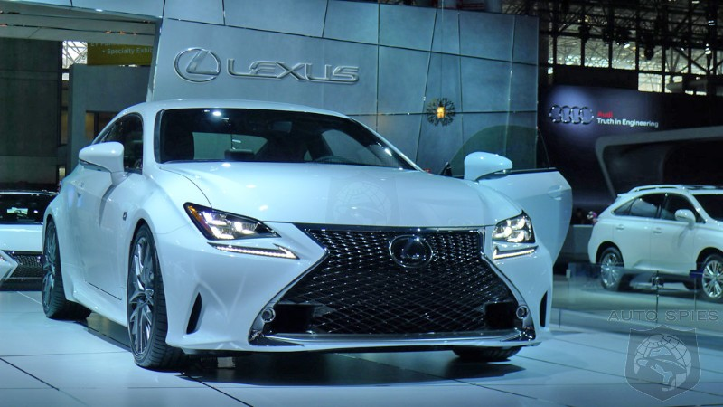NEW YORK AUTO SHOW STUD or DUD Is WHITE RIGHT On The Lexus RC 350 F Sport
