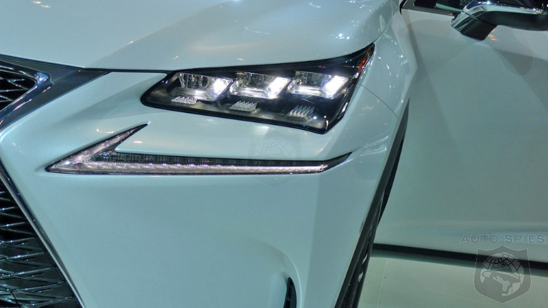NEW YORK AUTO SHOW EXCLUSIVE FIRST REAL LIFE Pictures Of The 2015 Lexus NX 200t F SPORT ISawItFirstNX LexusNX