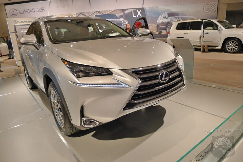 NEW YORK AUTO SHOW EXCLUSIVE! MORE Easter Surprises! FIRST REAL-LIFE Pics Of The 2015 Lexus NX 300h!