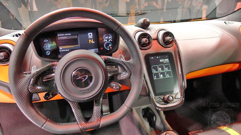 nyias best real life interior shots of the mclaren 570s. Black Bedroom Furniture Sets. Home Design Ideas