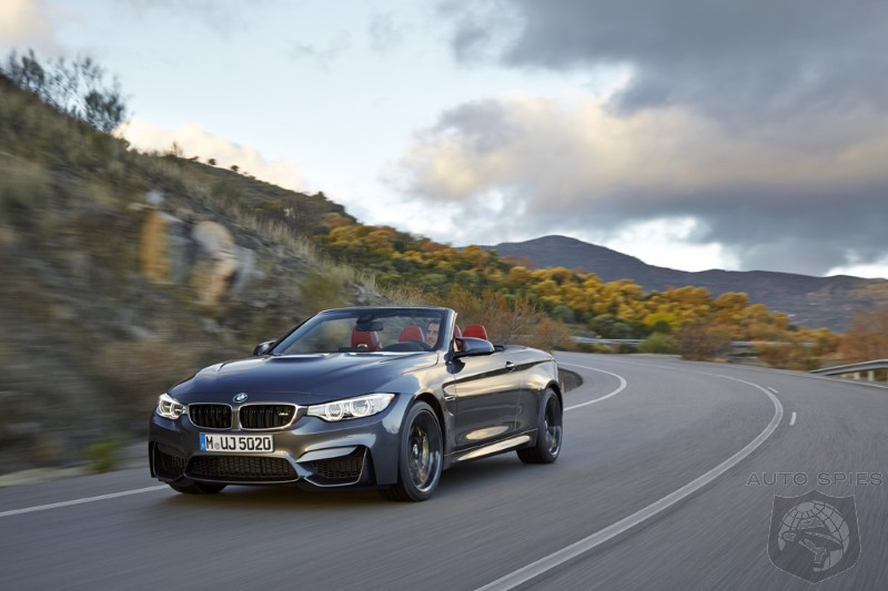 NEW YORK AUTO SHOW: EVERYTHING You Want To Know About The 2015 BMW M4 Convertible
