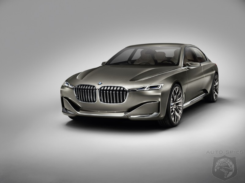LEAKED All New Concept From BMW Breaks Embargo We Introduce The BMW Vision Future Luxury