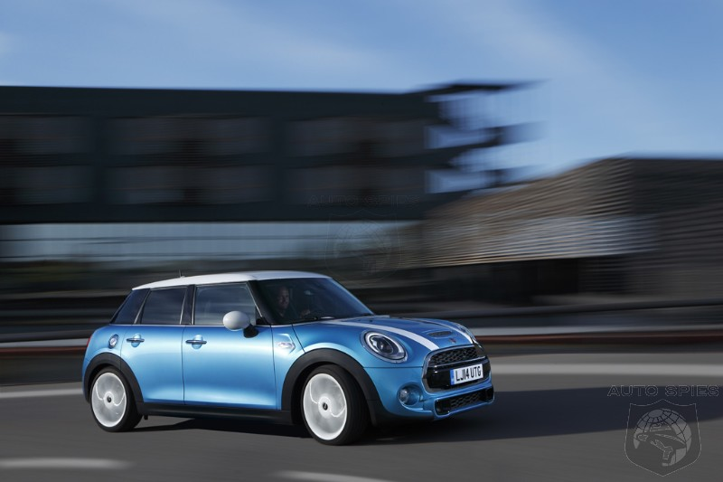 OFFICIAL: After MONTHS Of Spy Shots, The 2015 MINI Cooper Hardtop 4 Door Becomes REAL
