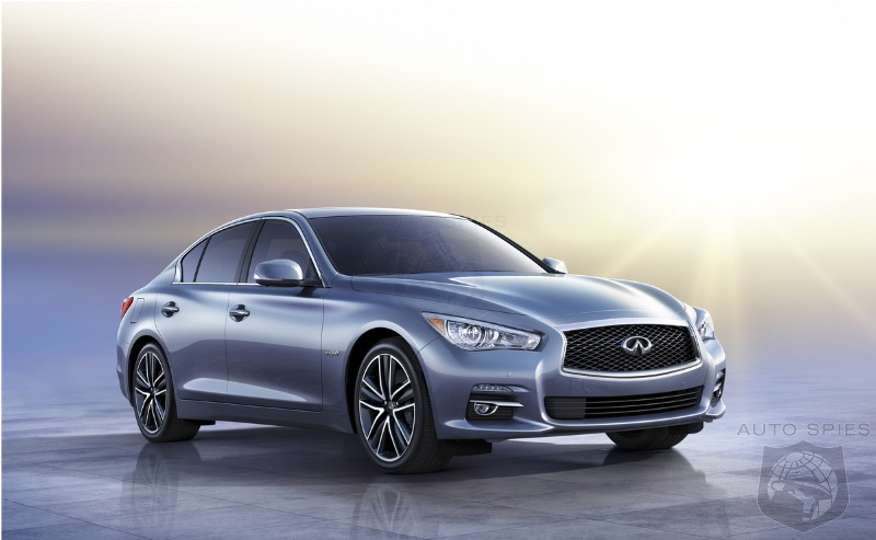 Infiniti's All-New Q50 Squaring Up Against A4 And 3-Series — Will Feature Turbo FOUR And Diesel Powerplants