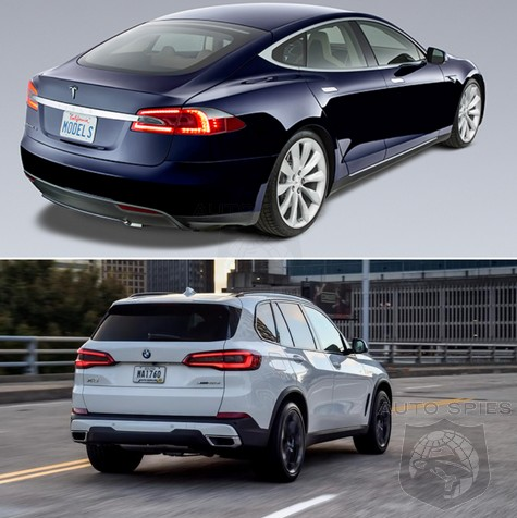 Has The TESLA EFFECT Reached All-new BMW Designs? All-new X5 HEARTS Model S?