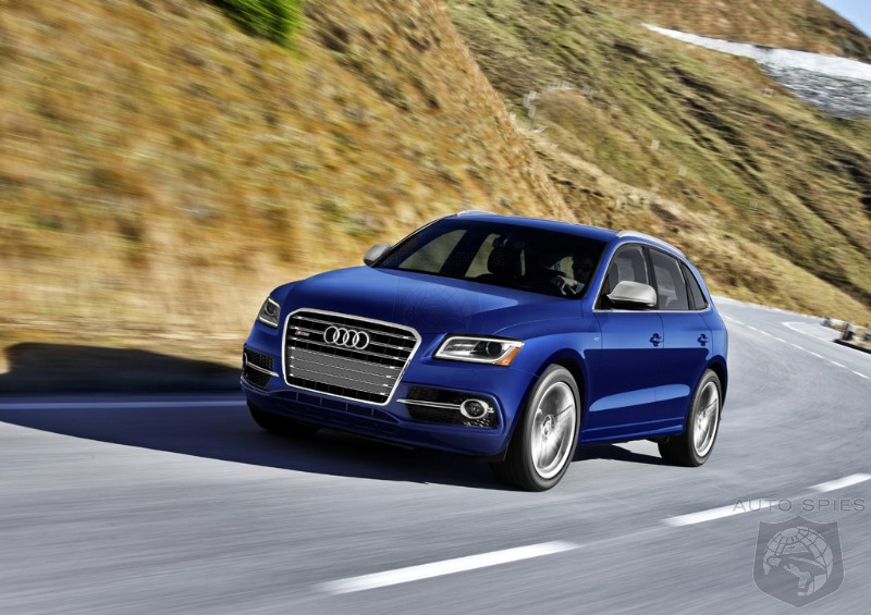 DETROIT AUTO SHOW PREVIEW: Audi Debuts The SQ5, NOW With A Gasoline Motor - STUD or DUD?