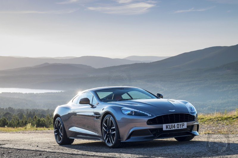 Aston Martin Makes Some BIG Changes To Its 2015 Model Year Vanquish And Rapide S — Learn MORE HERE!