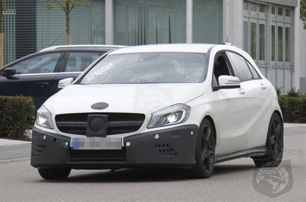 SPIED: Mercedes-Benz's Baby AMG SNAPPED Again!