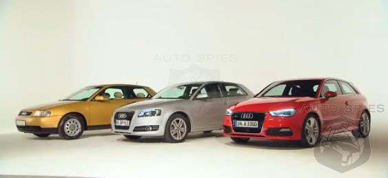 VIDEO: Watch The Audi A3 Through The Years - Should The Next-Gen Car Get A Radical Revamp?