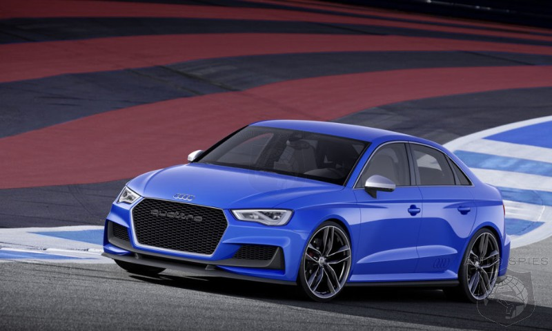 IF Audi WERE To Build An Audi A3 Clubsport Quattro Would YOU Want One?