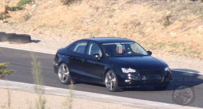SPIED: The U.S.-Bound Audi A3 Sedan Makes Its FIRST Appearance - 1-Series & CLA Be Damned?