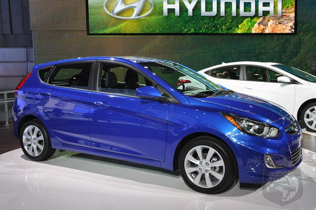 NEW YORK AUTO SHOW: Is The 2012 Hyundai Accent Going To Ride The Automaker's Wave Of Success?