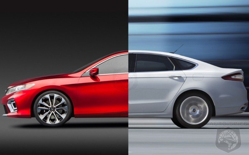 CAR WARS! Honda's All-New Accord Goes Toe-To-Toe With Ford's Gorgeous Fusion
