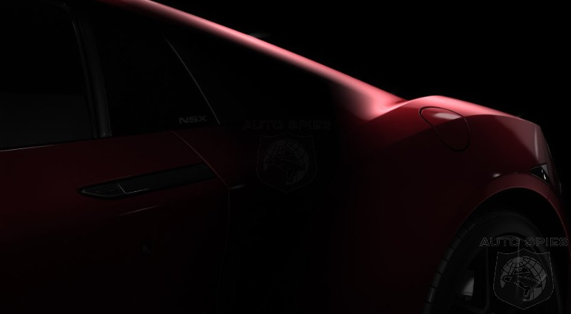 DETROIT AUTO SHOW What Will The Acura NSX NEED To SUCCEED Will It NEED To Be As Groundbreaking As The ORIGINAL NSX