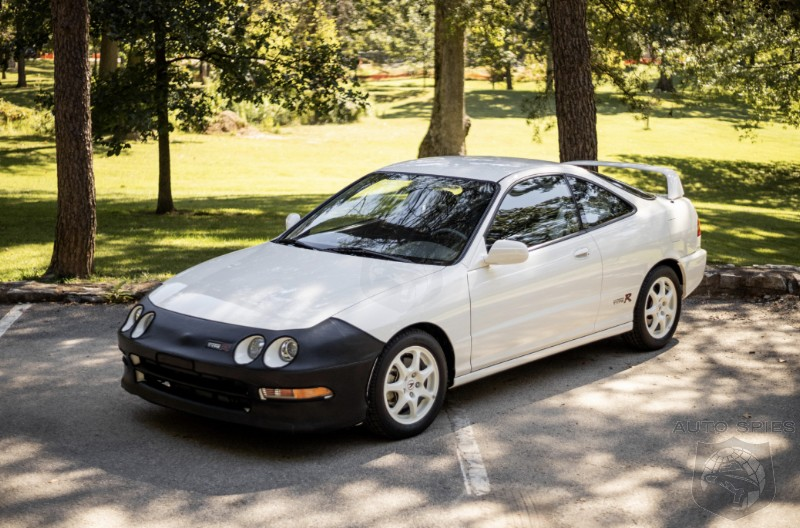 Are We In A Collector Car Bubble Is A 1997 Acura Integra