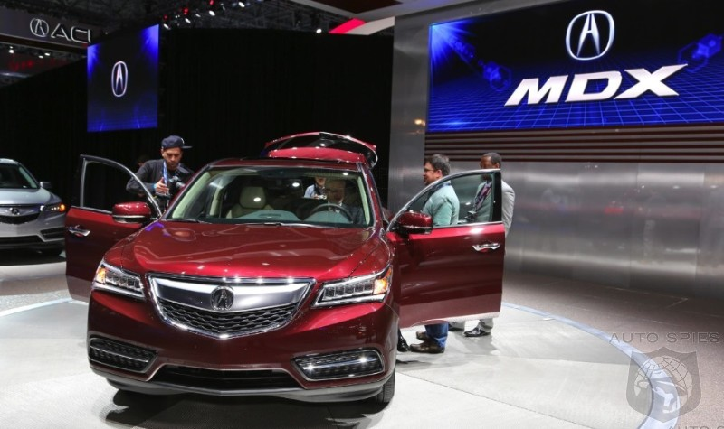 NEW YORK AUTO SHOW: Is The Acura MDX Going Down The SAME Road As The RLX? Make The Call — Thumbs UP or Thumbs DOWN?