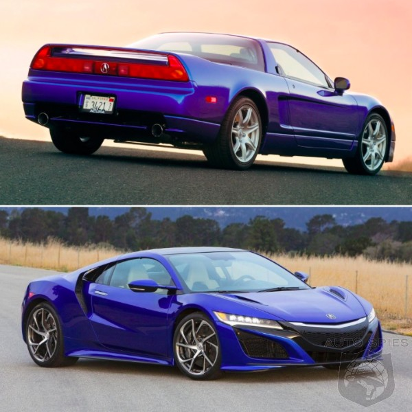 New Or Old 2003 Acura Nsx Vs 2017 Which Gets Your Vote