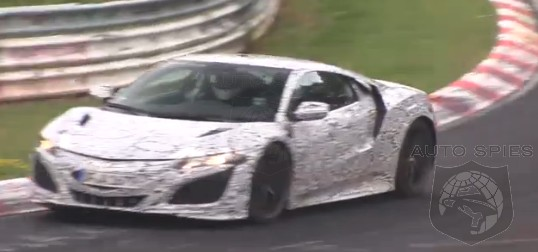 SPIED + VIDEO: Notice Anything PECULIAR With These Videos? Has The All-New Acura NSX Prototype Been Neutered?