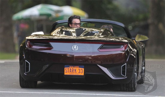 VIDEO: The REAL Story Behind Tony Stark's All-New Acura NSX Spyder ...