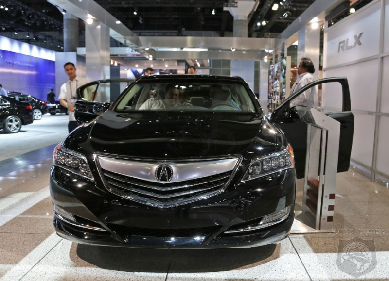 LA AUTO SHOW: Is Acura's All-New RLX Poised For Legend-Like Success Or Will It Linger On Dealer Lots?
