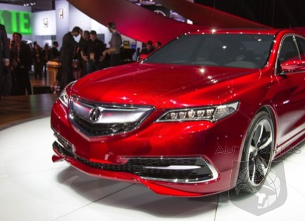 New York Auto Show 2015 Acura Tlx To Debut In Production