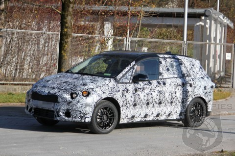 SPIED: BMW's Active Hybrid Tourer Comes To Life In Production Form - NEW Shots