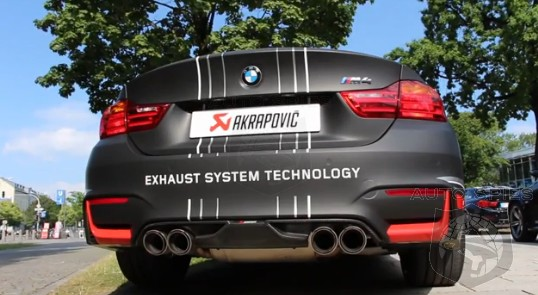 VIDEO: Can YOU Hear Me NOW? Does An Akrapovic Exhaust Make The Difference YOU Need On The 2015 BMW M3/M4?
