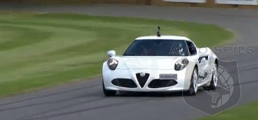 VIDEO: Poor, Poor Alfa! Alfa Romeo 4C Goes Off At Goodwood's Festival Of Speed
