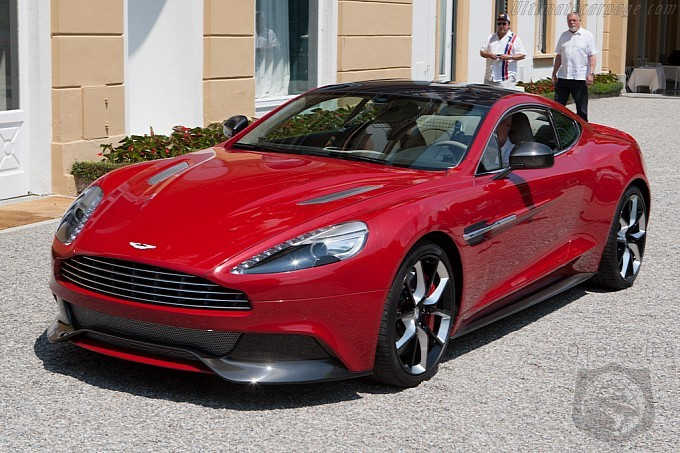 Aston Martin Gives Us A TASTE Of What's In Store For The DBS' Future At Villa d'Este