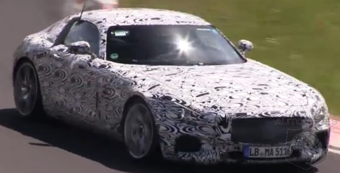 SPIED + VIDEO: Mercedes-Benz's AMG GT Working Around The Ring — Are YOU Diggin' The SOUND?