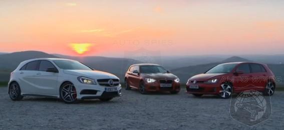 San Diego Audi >> CAR WARS! Hot Hatch Showdown — BMW M135i vs. Mercedes-Benz A45 AMG vs. Volkswagen GTI ...