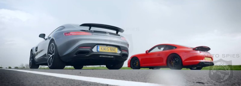CAR WARS Mercedes AMG s All New GT Squares Up Against The Porsche 911 991 GTS