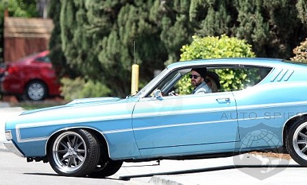 SPIED: Need For Speed's Aaron Paul Spotted Driving Some Interesting Hardware In SoCal