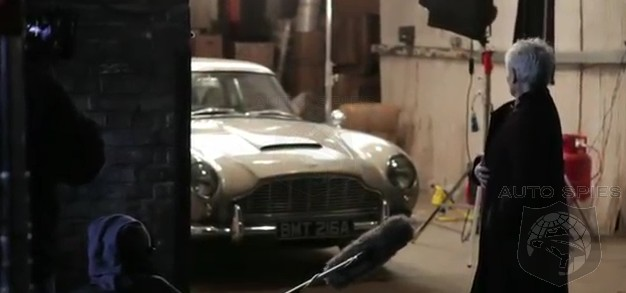 VIDEO: The MOST Legendary Of ALL James Bonds' Cars To Get A Revival In The Release Of Skyfall