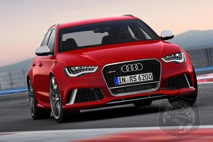 REVEALED! Audi's All-New RS6 Avant Is EXPOSED - 550 + Horsepower!