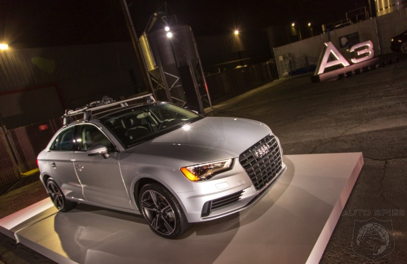 Agent 001 Lands In The Middle Of Tech City For The Launch Of The 2015 Audi A3 FIRST Pics