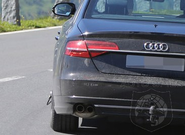 SPIED: Audi's All-New A8 Gets Started With Development — FIRST Shots HERE!