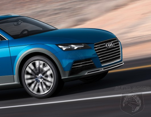 DETROIT AUTO SHOW: Audi Debuts Its All-New Showcar, The Allroad Shooting Brake, BUT It May Actually Hint At Something Else