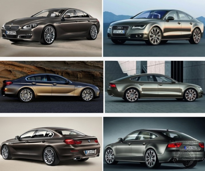 VIDEO CAR WARS Audi A7 vs BMW 6Series Gran Coupe  AutoSpies
