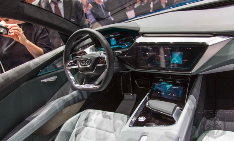 Iaa Audi Shows Off Its Next Gen Interior Style And