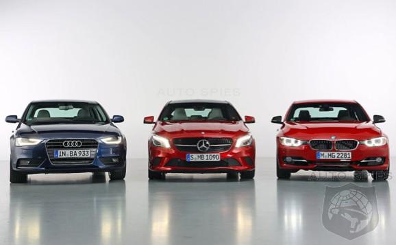 LAST MAN STANDING Of The BIG Three Germans Audi BMW Mercedes - Audi bmw benz