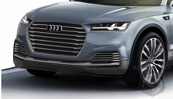 RENDERED SPECULATION: Step Aside, Audi Q7 — The Q8 Is Coming To Town