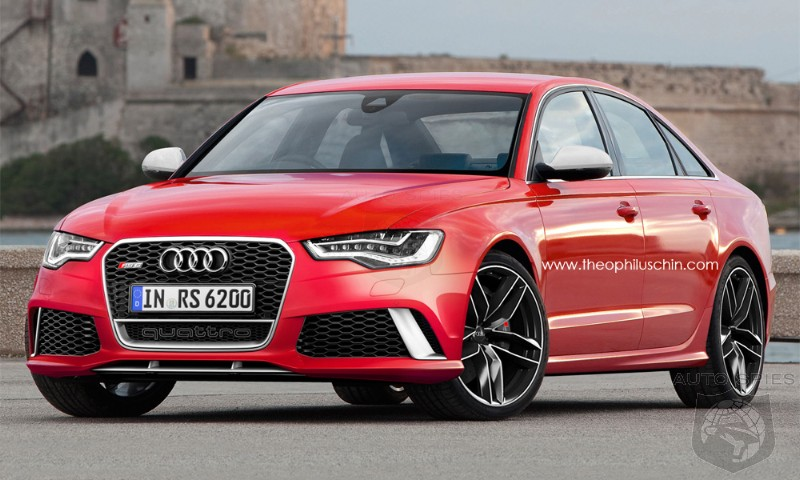 RENDERED SPECULATION: While We May NOT Get The Audi RS6 Avant, What IF We Received An RS6 Sedan
